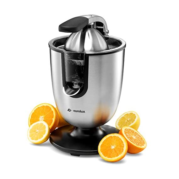 Citrus juicer 2 No extra piece to storage 1-size-fits-all juicing cone provides maximum juice extraction Filter integrated filter captures pits for richer and cleaner juice extraction Easy press rubber handle press with soft grip - stop and reducing pressure on the hand