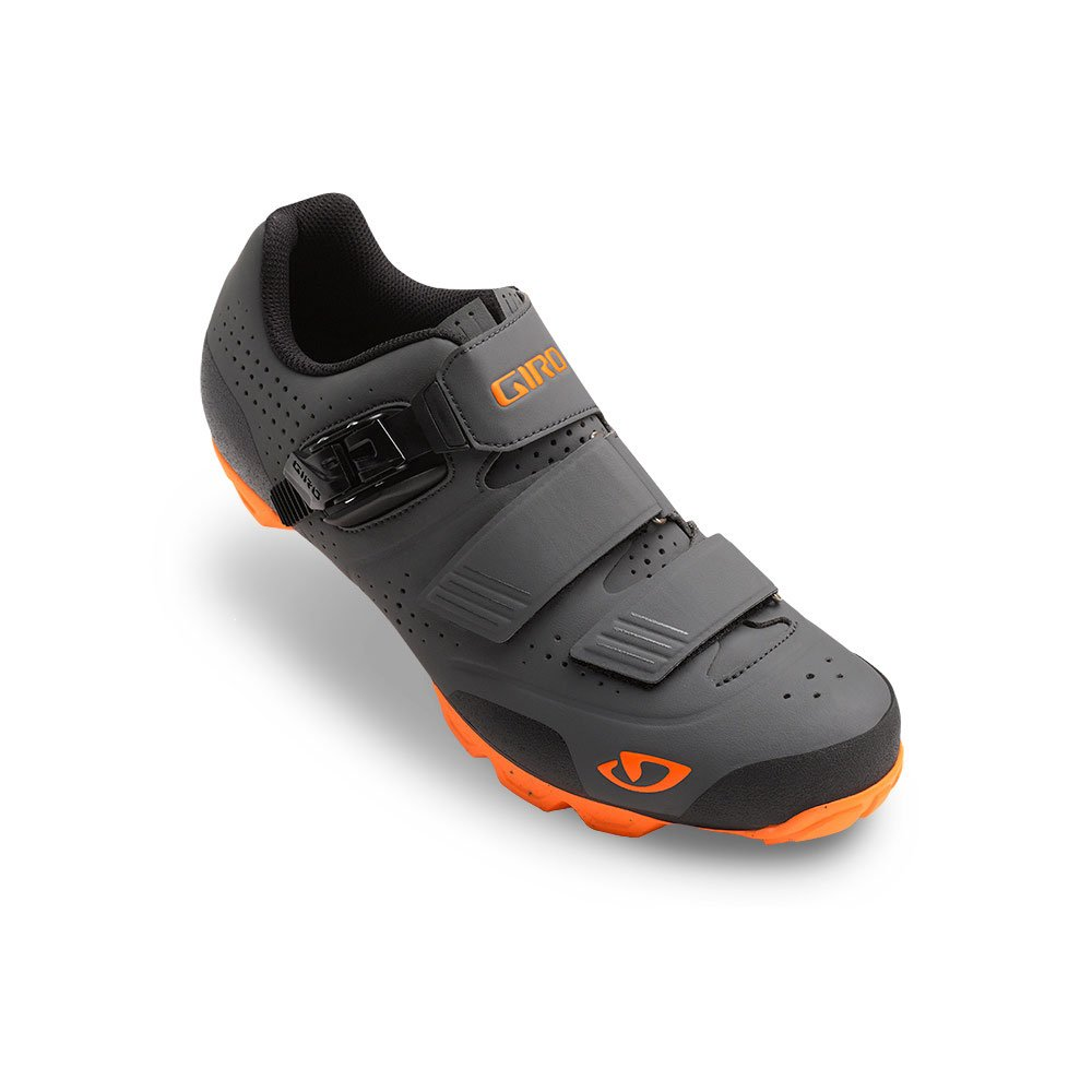 Giro Privateer R MTB Shoes Dark Shadow/Flame Orange 40.5