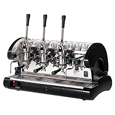La Pavoni Commercial Lever Espresso Machine (Black)