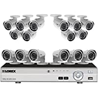 16 channel 1080p security system with 16 high definition cameras