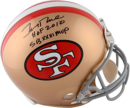 Jerry Rice San Francisco 49ers Autographed Riddell Pro-Line Helmet with