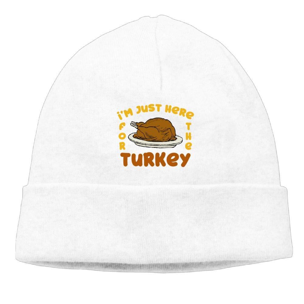 Aiw Wfdnn Happy Thanksgiving Day Turkey Beanie Hat Knit Cap for Mens