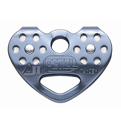 1 Line Double Line (PETZL Tandem Speed Double Pulley One Color One Size)