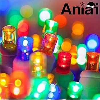 Amazon Com Aniai M5 Outdoor Christmas Lights Led
