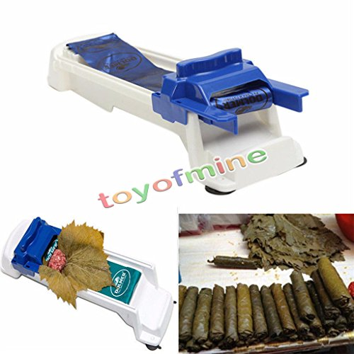 Sushi Roller Machine Plastic Kitchen Grape/Cabbage Rolling Leaf Roll Maker - Specs Online Australia