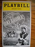Shuler Hensley Signed Brand New Playbill from Oklahoma starring, Patrick Wilson Josefina Gabrielle Andrea Martin Shuler Hensley