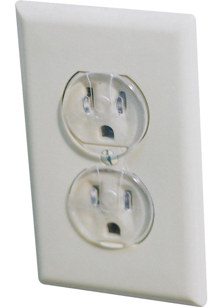 Safety 1st Ultra Clear Outlet Plugs, 57 Count