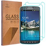 [2-PACK]-Mr Shield For Samsung Galaxy S4 Active [Tempered Glass] Screen Protector with Lifetime Replacement Warranty