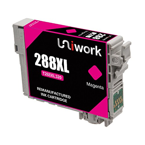 Uniwork Technology Remanufactured 288 288XL 5 Pack Cartridge Ink Replacement for use in Expression Home XP-330, XP-340, XP-430 XP-440 XP-434 XP-446 Printers Photo #4