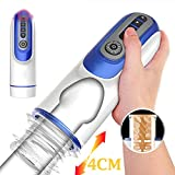 CVDFG TSHIRT Masturber Men Sex Automatic E-lectric Telescopic Masturbator Cup Artificial V-agina P-ussy 360 Degree Rotation P-Enis Massage Vibrator S-ex Toy for Men