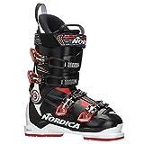 Nordica Speedmachine 100 Ski Boots 2018-28.5/White-Black-Red