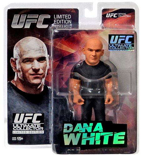 Round 5 UFC Ultimate Collector Series 14 LIMITED EDITION Action Figure Dana White