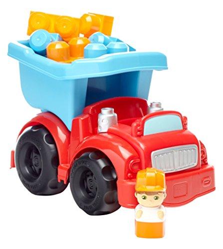 Mega Blocks Dump Truck (Mega Bloks First Builders Dump Truck Building Set)