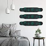 4 Set Skateboard Deck Wall Mount Display Rack