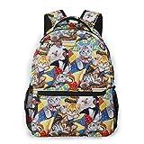 Funny Cat BabyBackpack Mutifunctional School Bag Large Capacity Laptop Computer Bag Casual Bag For Women And Men