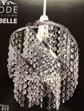 HK: Isabelle colgante transparente con cuentas de cristal ...