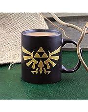 Paladone Mug Zelda Hyrule Logo 300 ml, keramiek, veelkleurig, 1 stuk (1 stuk)