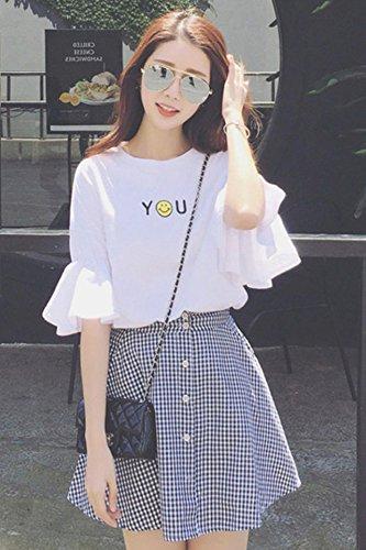 dc510712227cf Amazon.com : 2018 girls skirt suits College Wind Korean girl ...