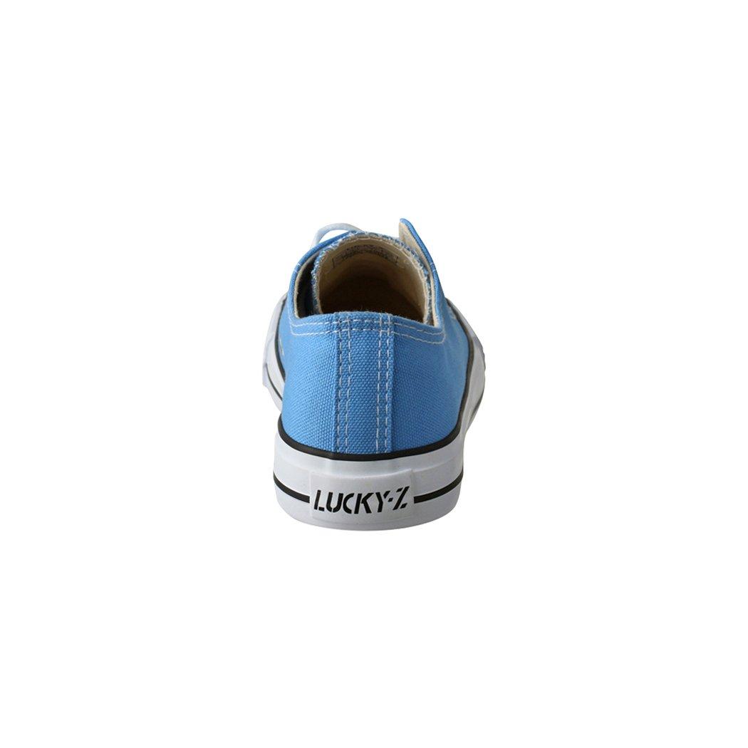 Elara Unisex Sneaker | Bequeme Sportschuhe für Herren und Damen Textil | Low Top Turnschuh Textil Damen Schuhe 36-46 Light Blue f8ea20