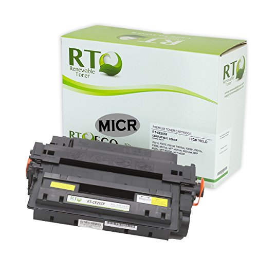 Compatible MICR Toner Cartridge High Yield HP CE255X for HP LaserJet P3010 P3015 P3016 M521 M525 MFP (Micr High Yield Laser)