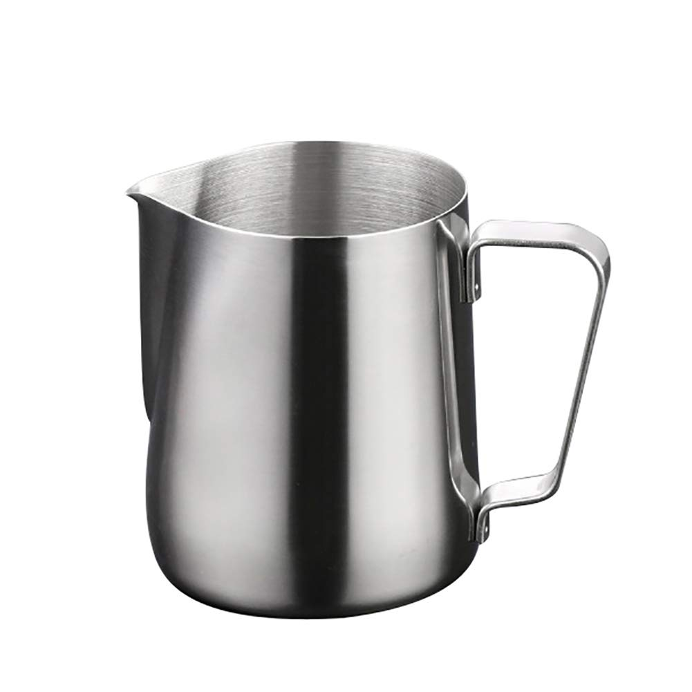 angel3292 [Home Decor-Stainless Steel Espresso Coffee Cup Latte Milk Frothing Jug Kitchen Accessories,Arrive Before Christamas 150ML