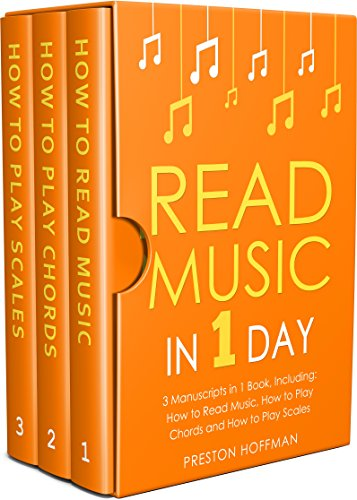 #freebooks – Read Music: In 1 Day – Bundle – The Only 3 Books You Need to Learn How to Read Music Notes and Reading Sheet Music Today (Music Best Seller Book 37) by Preston Hoffman