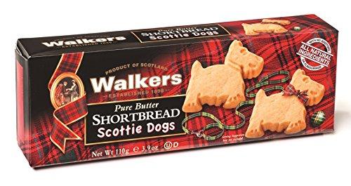 Scottish Food (Walkers Shortbread Scottie Dogs Shortbread, 3.9 Ounce)