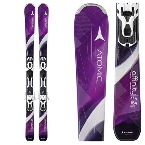Atomic Affinity Sky Womens Skis with XT 10 Ti Bindings 2016