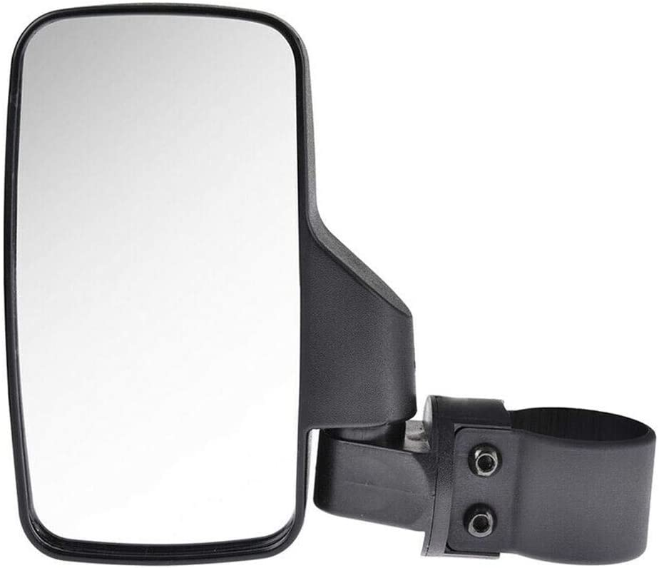 UTV Side View Mirrors for 1.6-2inch Roll Cage Bar,UTV All-Terrain Beach Off-Road Vehicle Sub-Mirror Universal Offroad Rear View Side Mirror Side Modified Mirror