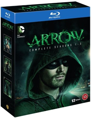 Arrow (Complete Seasons 1-3) - 12-Disc Box Set ( Arrow - Complete Seasons One, Two & Three ) [ Blu-Ray, Reg.A/B/C Import - Sweden ]