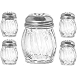 Cheese/Spice Shaker 4 Piece Set By Libbey 6 Ounces