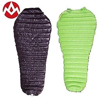 Aegismax - Saco de dormir de plumón de oca, diseño de momia; 41 grados: Amazon.es: Deportes y aire libre