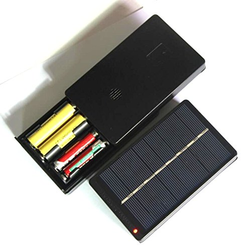 Solar Panel Aa Battery Charger - 8