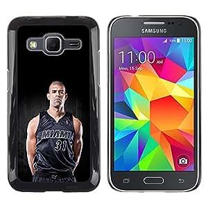 iKiki Tech / Estuche rígido - Miami 31 Baloncesto - Samsung Galaxy Core Prime