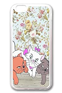 iPhone 6 Cases, Personalized Protective Soft Rubber TPU Clear Case Cover for New iPhone 6 4.7 inch Cats01