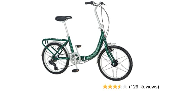 Amazon.com : Schwinn Loop 7-Speed Folding Bike : Folding Bicycles ...