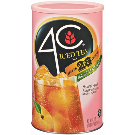 4C Iced Tea Mix - Peach - 28qt. by 4C from 4C