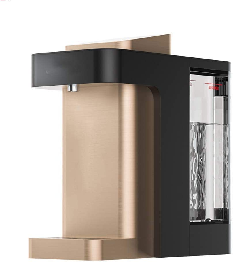 KYLL Electric Water Dispenser Compact Instant Hot Water Dispenser Desktop Hot Water Boiler with Adjustable Temperature, Child Lock