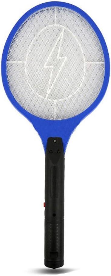 Eléctrico Seguro recargable Zap It Bug Zapper – Batería, de Mosquito Matamoscas y Bug Zapper raqueta 3000 V super-bright LED luz para Zap en la oscuridad – Única Seguridad en 3 capas