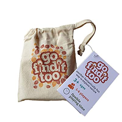 gofindit Too - Outdoor Nature Treasure Hunt Card Game for Families: Toys & Games