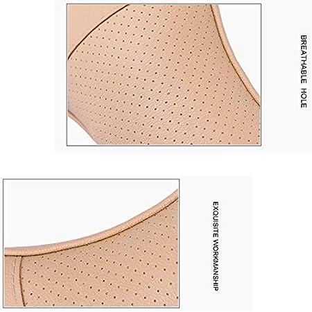 CUHAWUDBA 2 Piezas de Cuero Artificial Almohada de Coche Protecci/óN Tu Cuello//Auto Suministros Cuello Almohada Beige