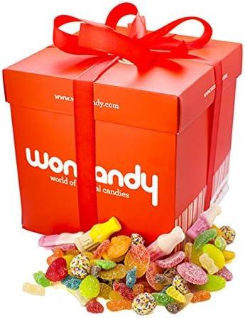 Wonkandy - Caja con Golosinas y Chucherías - Caja chuches surtidas tamaño XXL, 3kg: Amazon.es: Alimentación y bebidas