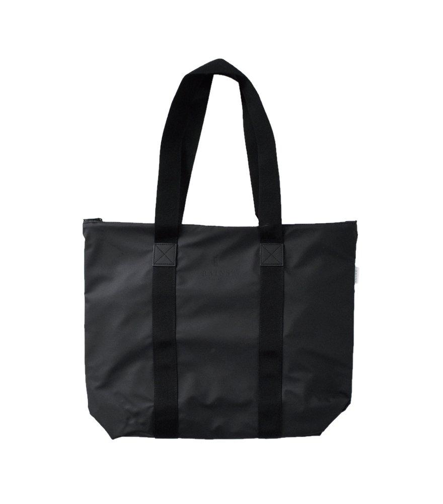 (レインズ) RAINS トートバッグ ラッシュ tote-bag-rush B01GUPE46O One Size|ブラック ブラック One Size
