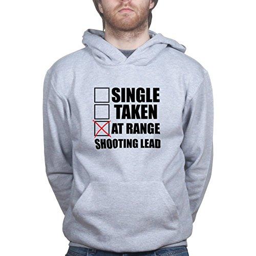 Single Taken At Shooting Range G43 G19 Shield Gun Hoodie 3XL Sports Grey