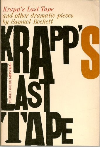 krapps last tape by samuel beckett A late evening in the future / krapp's den / front centre a small table, the two drawers of which open towards audience / sitting at the table, facing front, ie across from.
