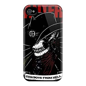 New Arrival For Iphone 4/4s Cases Pantera Covers For Girl Friend Gift, Boy Friend Gift