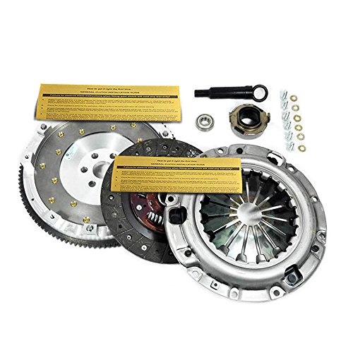 EXEDY CLUTCH KIT & FIDANZA ALUMINUM FLYWHEEL FORD PROBE GT MAZDA MX-6 626 2.5L