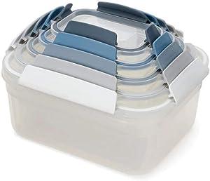 Joseph Joseph Editions Nest Lock 5-Piece Storage Container Set - Sky