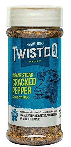 Twist'd Q Insane Steak Cracked Pepper Seasoing