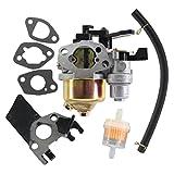 USPEEDA Carburetor for Honda GX120 GX160 GX200 4HP 5.5HP 6.5HP 168F 2KW - 3KW 16100-ZH7-W51 16100-ZH8-W61 JINGKE Huayi Kinzo Ruixing Wisdom Gas Generator